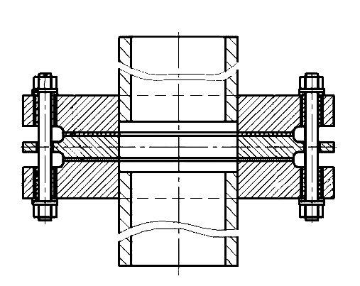 ИФС-150 изтрехфланцев с токоотводниками, спокраской